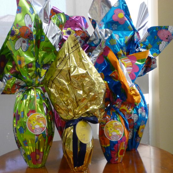 Imported Foil Wrapped Chocolate Easter Eggs